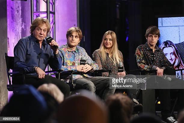 Singer-songwriter Eddie Money, Dez Money, Jesse Money and Julian Money attend AOL Build at AOL Studios on November 30, 2015 in New York City.