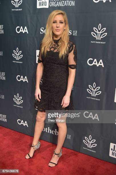 Singersongwriter Ellie Goulding attends Sean Penn Friends HAITI TAKES ROOT A Benefit Dinner Auction to Reforest Rebuild Haiti to Support J/P Haitian...