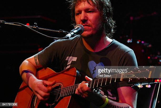 Singersongwriter Elliott Smith performs on stage at the LA Weekly Music Awards Show Smith was found dead by his girlfriend in their Los Angeles...