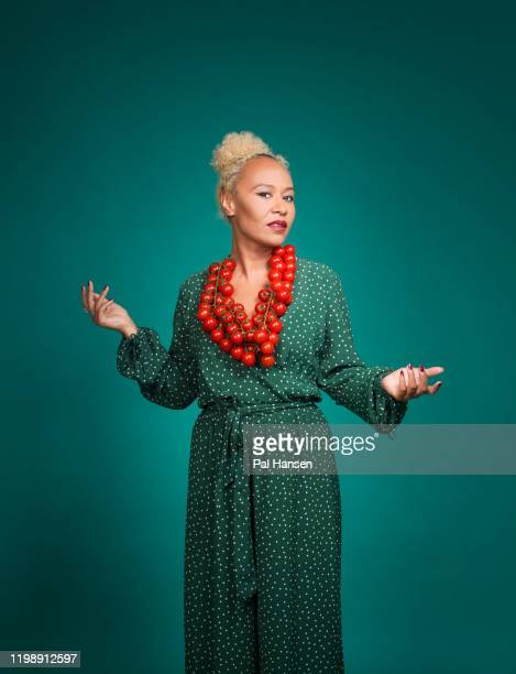 Singersongwriter Emeli Sande is photographed for the Observer on August 2 2019 in London England