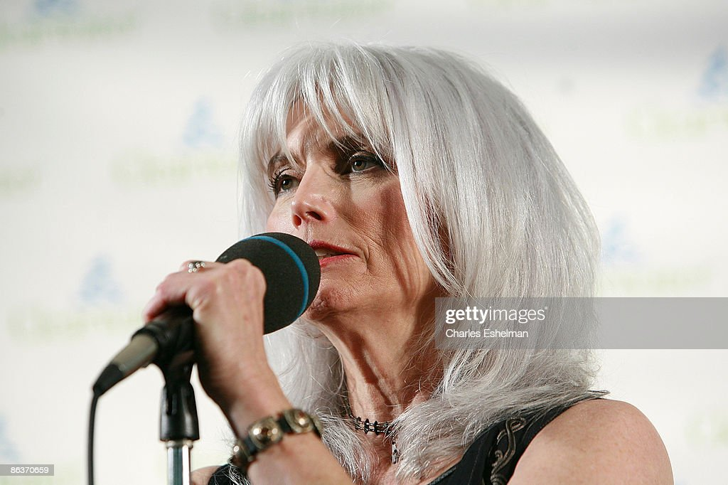 Singer/songwriter Emmylou Harris attends the Clearwater Benefit Concert Celebrating Pete Seeger's 90th Birthday at Madison Square Garden on May 3, 2009 in New York City.