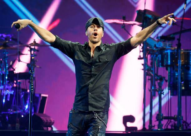 NV: Enrique Iglesias And Ricky Martin With Sebastian Yatra In Concert - Las Vegas, NV