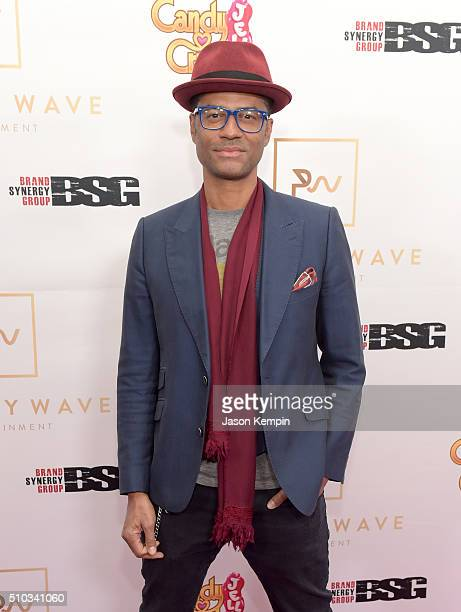 Singer/songwriter Eric Benet attends the Primary Wave 10th Annual PreGrammy Party at The London West Hollywood on February 14 2016 in West Hollywood...