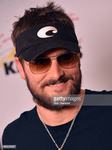 Singer/Songwriter Eric Church backstage at Country Thunder Arizona 2013 Day 2 on April 12 2013 in Florence Arizona