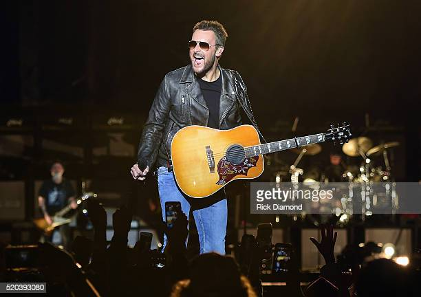 Singer/Songwriter Eric Church performs at County Thunder Music Festivals Arizona Day 4 on April 10 2016 in Florence Arizona