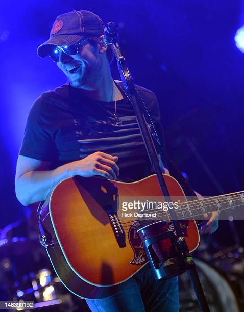 Singer/Songwriter Eric Church performs at the 2012 BamaJam Music and Arts Festival Day 1 at BamaJam Farms in Enterprise Alabama on June 14 2012