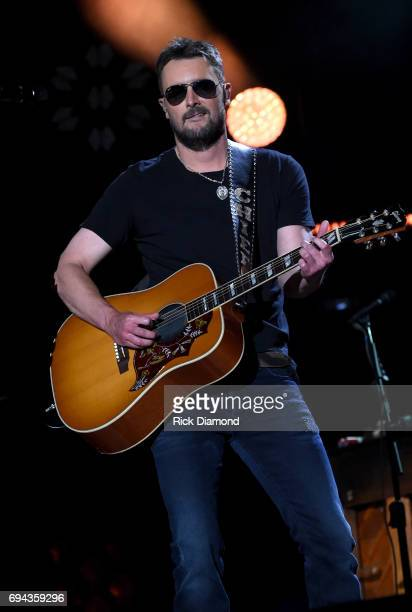 Singersongwriter Eric Church performs onstage during day 2 of the 2017 CMA Music Festival on June 9 2017 in Nashville Tennessee