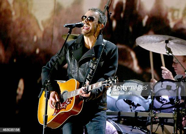 Singer/songwriter Eric Church performs onstage during The 57th Annual GRAMMY Awards at STAPLES Center on February 8 2015 in Los Angeles California