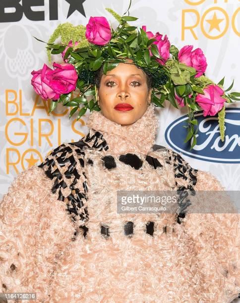 Singersongwriter Erykah Badu attends 2019 Black Girls Rock at NJ Performing Arts Center on August 25 2019 in Newark New Jersey