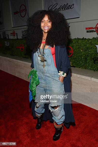 Singer/songwriter Erykah Badu attends BODY at ESPYs at Milk Studios on July 14 2015 in Hollywood California