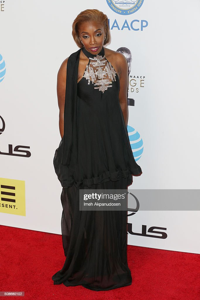 Singer-songwriter Estelle attends the 47th NAACP Image Awards presented by TV One at Pasadena Civic Auditorium on February 5, 2016 in Pasadena, California.