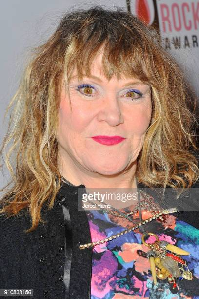 Singer/songwriter Exene Cervenka arrives at 6th Annual She Rocks Awards at House Of Blues on January 26 2018 in Anaheim California