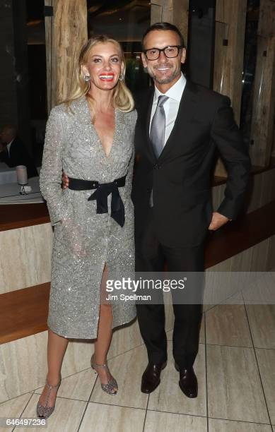 Singer/songwriter Faith Hill and actor/singer Tim McGraw attend the world premiere after party for The Shack hosted by Lionsgate at Gabriel Kreuther...