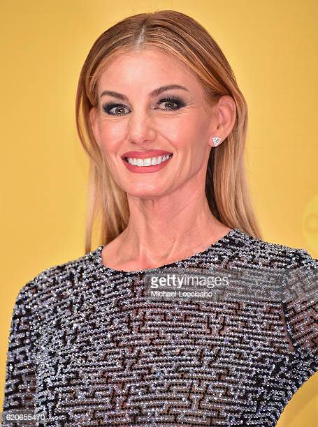 Singersongwriter Faith Hill attends the 50th annual CMA Awards at the Bridgestone Arena on November 2 2016 in Nashville Tennessee