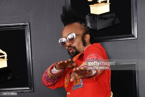US singersongwriter Fantastic Negrito arrives for the 61st Annual Grammy Awards pretelecast show on February 10 in Los Angeles