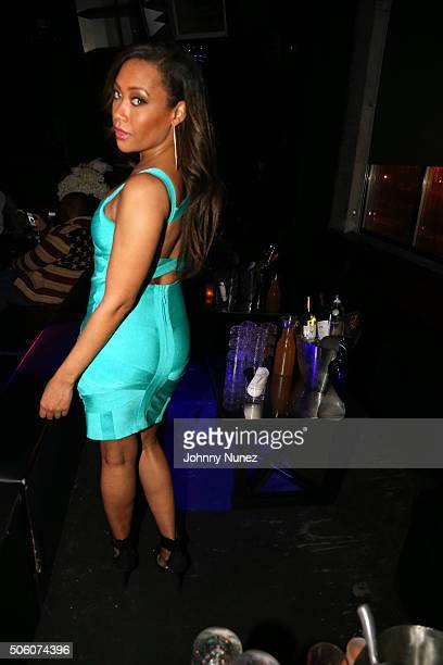 Singersongwriter Farrah Franklin attends Mimi Faust's Birthday Party on January 20 in New York City