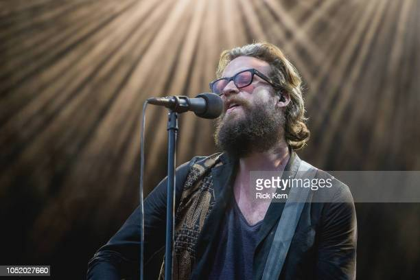 Singer-songwriter Father John Misty performs onstage during weekend two, day one of Austin City Limits Music Festival at Zilker Park on October 12,...