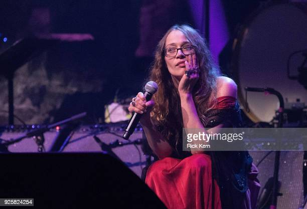 Singersongwriter Fiona Apple performs onstage during The Austin Music Awards at ACL Live on February 28 2018 in Austin Texas