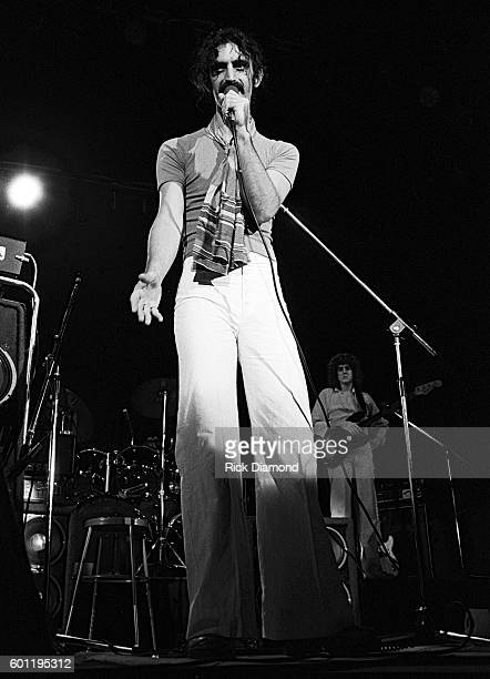 Singer/Songwriter Frank Zappa performs at The Fox Theater in Atlanta Georgia October 25 1981