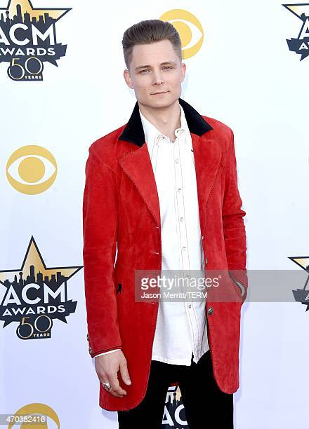 Singersongwriter Frankie Ballard attends the 50th Academy of Country Music Awards at ATT Stadium on April 19 2015 in Arlington Texas