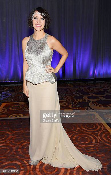 Singer/songwriter Gaby Moreno attends The 14th Annual Latin GRAMMY Awards after party at the Mandalay Bay Events Center on November 21 2013 in Las...