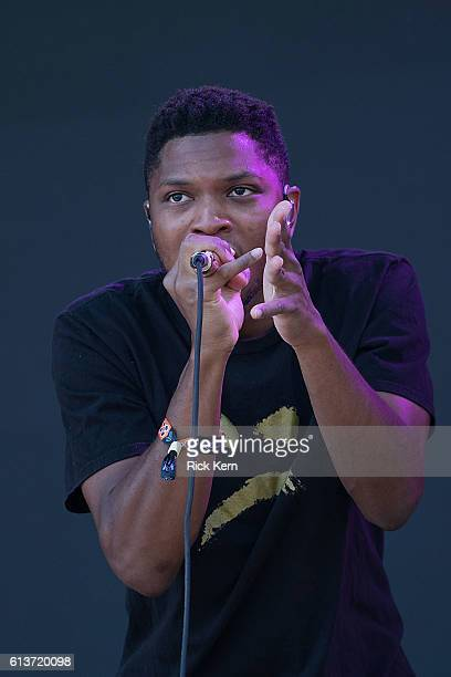 Singersongwriter Gallant performs onstage during weekend two day three of Austin City Limits Music Festival at Zilker Park on October 9 2016 in...