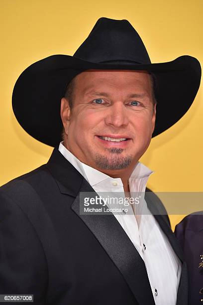 Singersongwriter Garth Brooks attends the 50th annual CMA Awards at the Bridgestone Arena on November 2 2016 in Nashville Tennessee