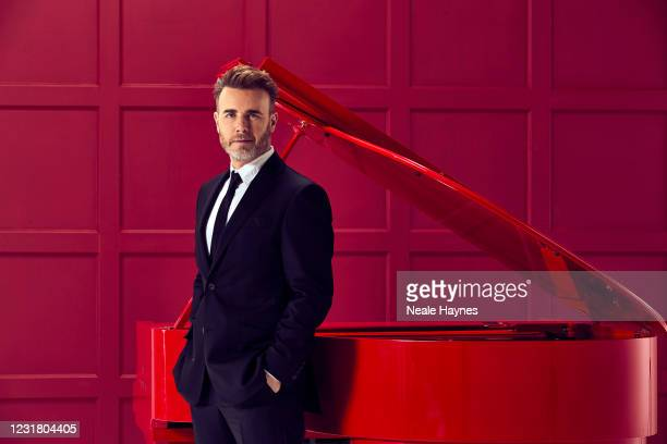 Singer-songwriter Gary Barlow is photographed for the Daily Mail on January 21, 2021 in London, England.