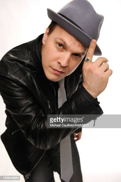 Singer/songwriter Gavin DeGraw poses for a portrait at the 2011 American Music Awards held at Nokia Theatre LA LIVE on November 20 2011 in Los...