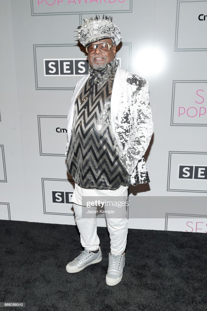 Singer/Songwriter George Clinton attends the 2017 SESAC Pop Awards on April 13, 2017 in New York City.