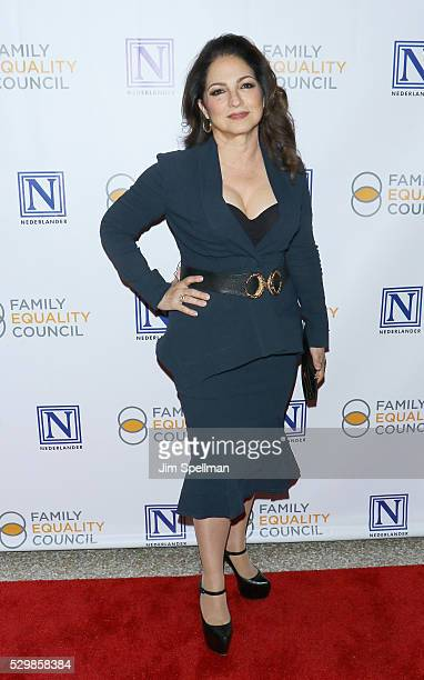 Singer/songwriter Gloria Estefan attends the 11th Annual Family Equality Council Night at the Pier at Pier 60 on May 9 2016 in New York City