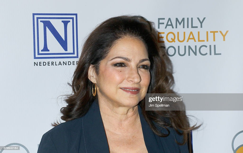 Singer/songwriter Gloria Estefan attends the 11th Annual Family Equality Council Night at the Pier at Pier 60 on May 9, 2016 in New York City.