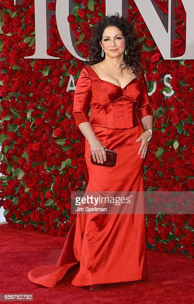 Singer/songwriter Gloria Estefan attends the 70th Annual Tony Awards at Beacon Theatre on June 12 2016 in New York City