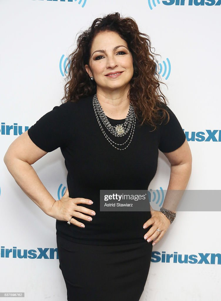 Gloria Estefan Sits Down With Larry Flick For SiriusXM's 'Leading Ladies' Series At The SiriusXM Studios On June 2, 2016