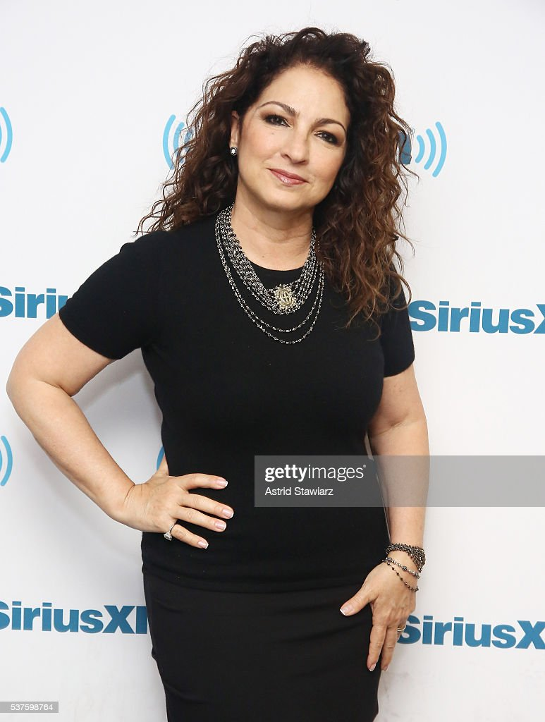 Singer-songwriter Gloria Estefan poses for a photo before she sits down with Larry Flick for SiriusXM's 'Leading Ladies' series at the SiriusXM Studios on June 2, 2016 in New York City.