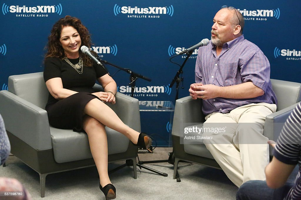 Singer-songwriter Gloria Estefan sits down with Larry Flick for SiriusXM's 'Leading Ladies' series at the SiriusXM Studios on June 2, 2016 in New York City.