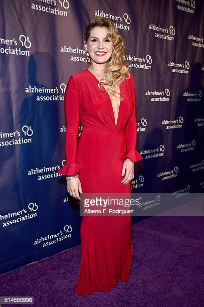 """Singer-songwriter Grace Potter attends the 24th and final """"A Night at Sardi's"""" to benefit the Alzheimer's Association at The Beverly Hilton Hotel on..."""