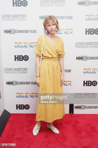 Singersongwriter Grace VanderWaal attends the Believer New York Premiere at Metrograph on June 18 2018 in New York City