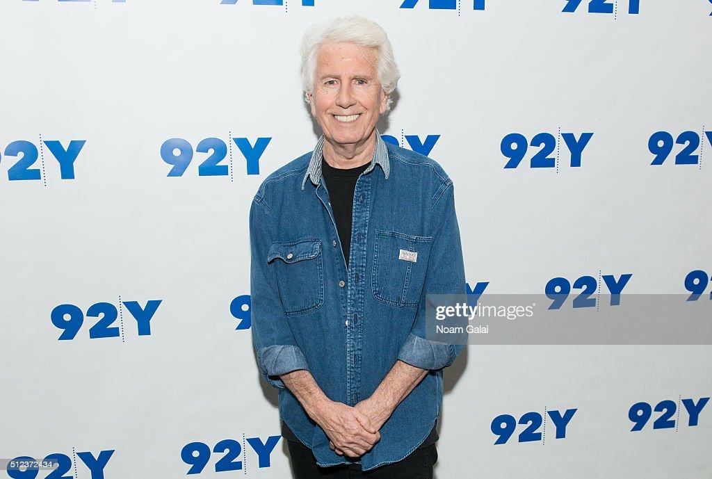 Singer-songwriter Graham Nash visits 92Y on February 25, 2016 in New York City.