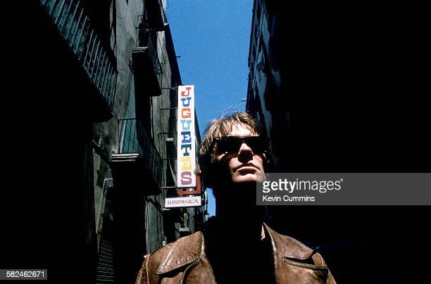 Singersongwriter Guy Chadwick of English alternative rock group House Of Love Barcelona 5th May 1990