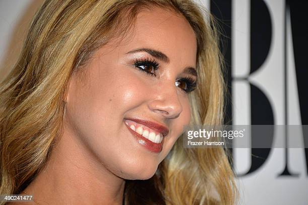 Singersongwriter Haley Reinhart attends the 62nd annual BMI Pop Awards at the Regent Beverly Wilshire Hotel on May 13 2014 in Beverly Hills California