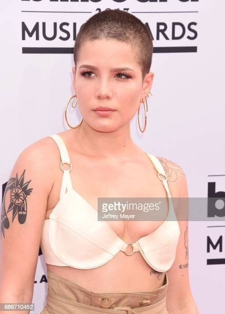 Singersongwriter Halsey attends the 2017 Billboard Music Awards at TMobile Arena on May 21 2017 in Las Vegas Nevada