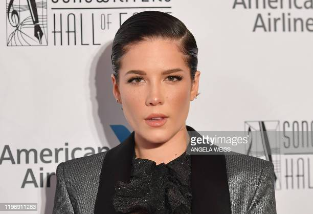 Singer-songwriter Halsey attends the 2019 Songwriters Hall Of Fame Gala at The New York Marriott Marquis on June 13, 2019 in New York City.