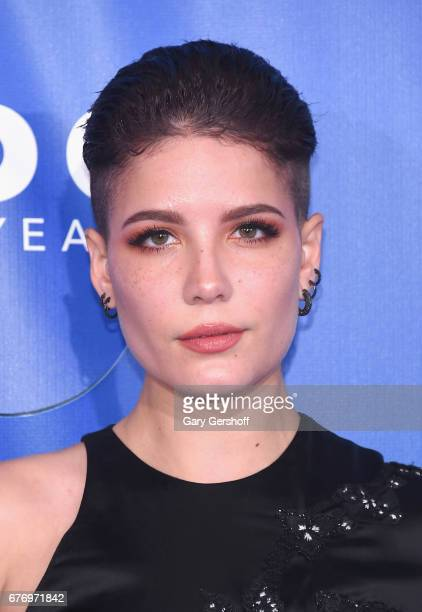 Singer/songwriter Halsey attends the Planned Parenthood 100th Anniversary Gala at Pier 36 on May 2 2017 in New York City