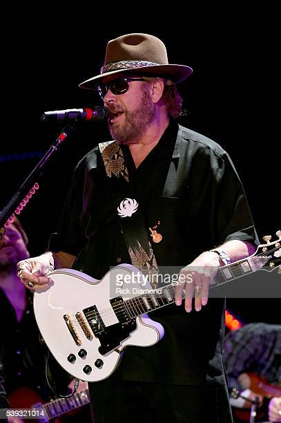 Singersongwriter Hank Williams Jr performs onstage during 2016 CMA Festival Day 2 at Nissan Stadium on June 10 2016 in Nashville Tennessee