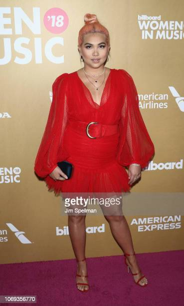 Singer/songwriter Hayley Kiyoko attends the Billboard's 13th Annual Women in Music event at Pier 36 on December 6 2018 in New York City