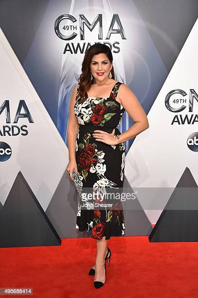 Singer-songwriter Hillary Scott of Lady Antebellum attends the 49th annual CMA Awards at the Bridgestone Arena on November 4, 2015 in Nashville,...