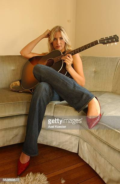 Singersongwriter Holly Williams granddaughter of Hank Williams and daughter of Hank Williams Jr is photographed at a friends home in West Los Angeles