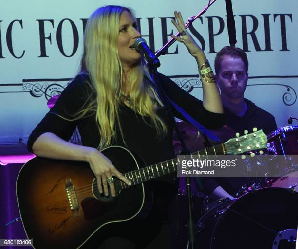 Singer/Songwriter Holly Williams performs during Sam's Place Music For The Spirit 2017 at Ryman Auditorium on May 7 2017 in Nashville Tennessee