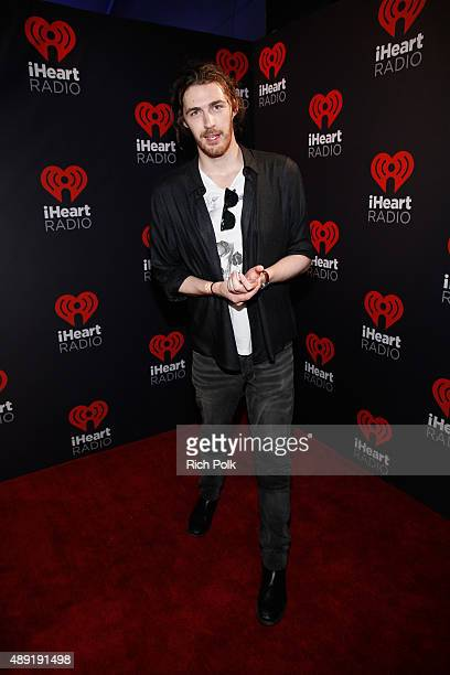 Singer/songwriter Hozier attends The Daytime Village during the 2015 iHeartRadio Music Festival at the Las Vegas Village on September 19 2015 in Las...